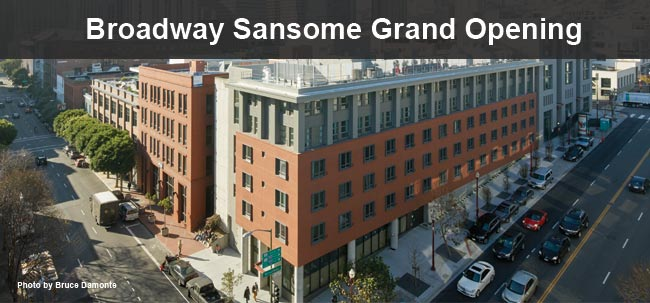 Grand Opening of Broadway Sansome Apartments